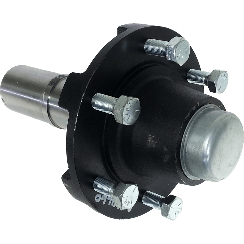 Trailer Hubs And Spindles : Bolt agriculture hub spindle assembly quot diameter