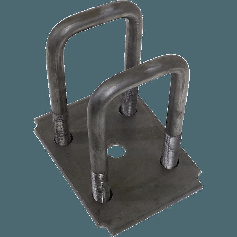U Bolt Kit For 2 Quot Square Tube Axle Au2s Dl Parts For