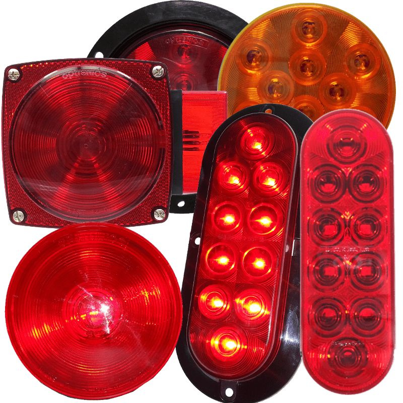 Stop Turn Tail Lights Dl Parts For Trailers Inc