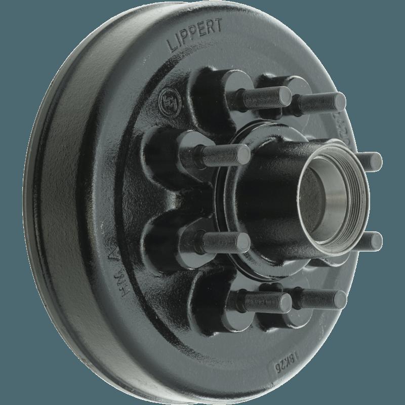 Brake Hub & Drum Assembly, Lippert/LCI 8,000lb Hybrid Axles, 8-6 5, 12
