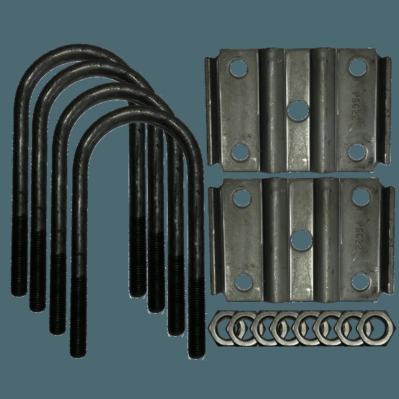 U bolt kit for lb quot diameter round tube axle