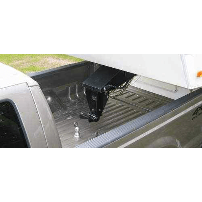 5th Wheel Pin Box Extension : Mumby rv kingpin to ball adapter quot extended ckam e dl